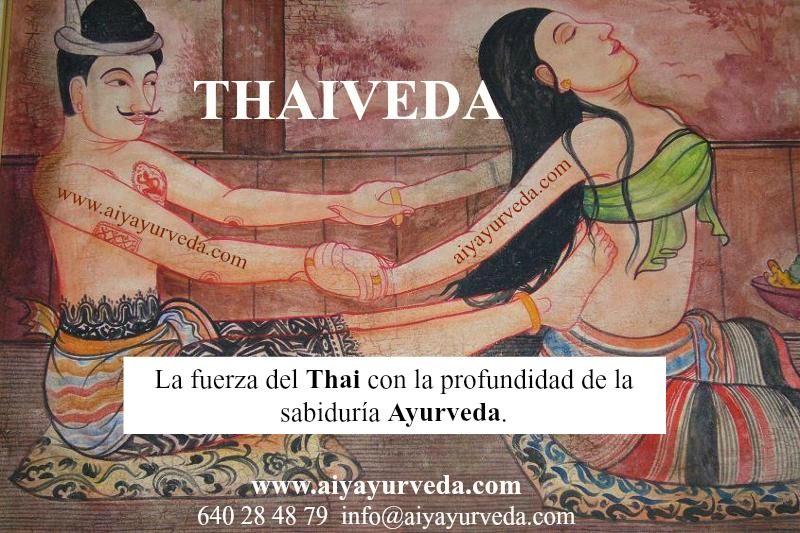 masaje tailandes y ayurveda
