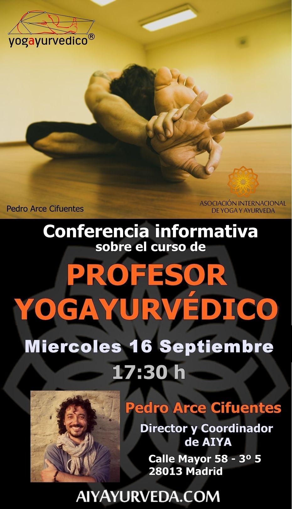 Formación de profesor de Yogayurvedico