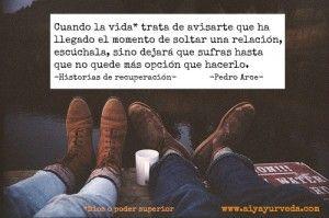 Pedro Arce historias de recuperación