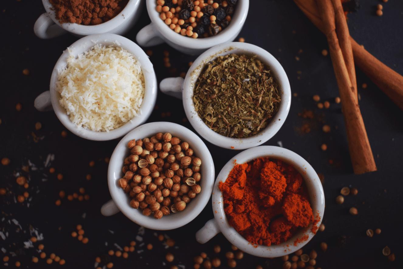 arroz y especias ayurveda