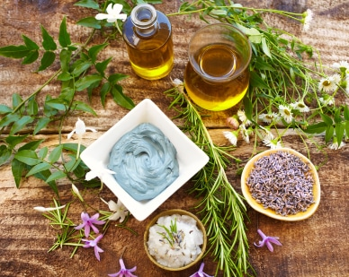 ingredientes cosmetica ayurveda