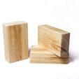 Tacos de madera equilibrio